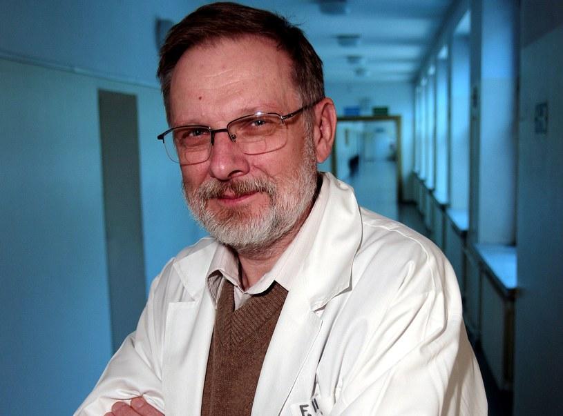 Prof. Jacek Wciórka jest jednym z najlepszych polskich psychiatrów /fot. Krzysztof Zuczkowski /Agencja FORUM