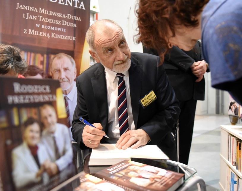 Prof. Jan Duda /M.Lasyk /Reporter