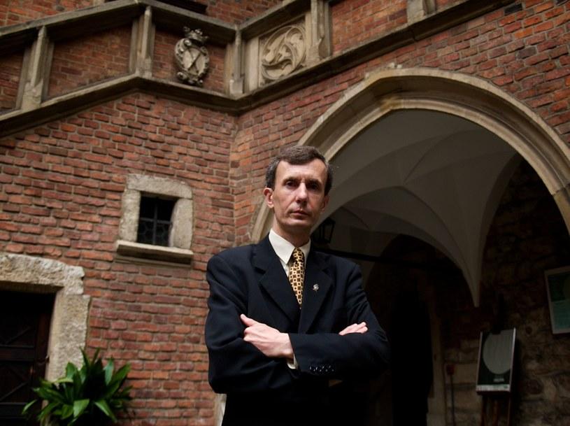Prof. Jan Tkaczyński z Instytutu Europeistyki Uniwersytetu Jagiellońskiego /Archiwum autora /