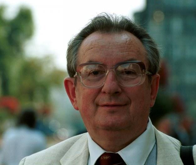 Prof. Jan Winiecki. Fot. Wojtek Stein /Reporter