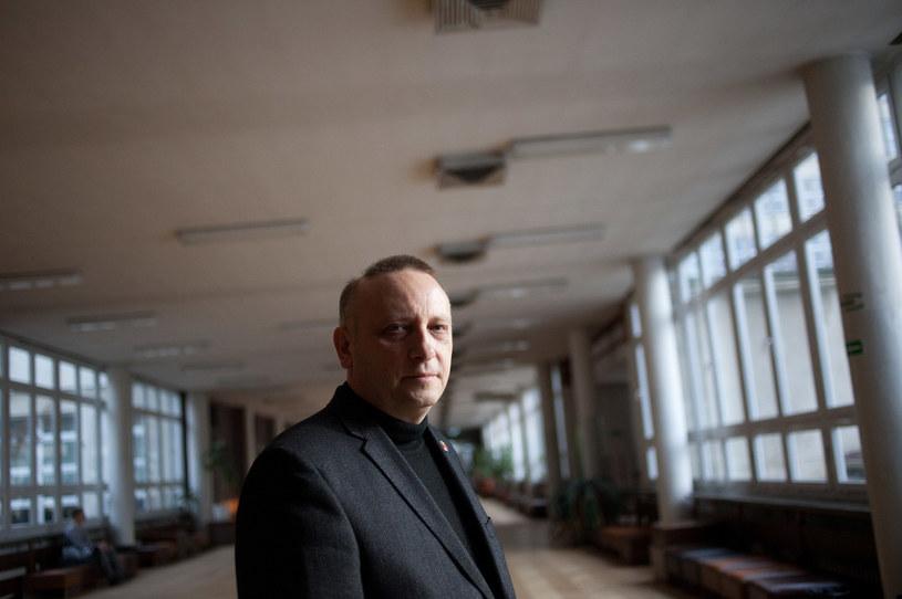 Prof. Janusz Moryś /Łukasz Glowala /Agencja FORUM
