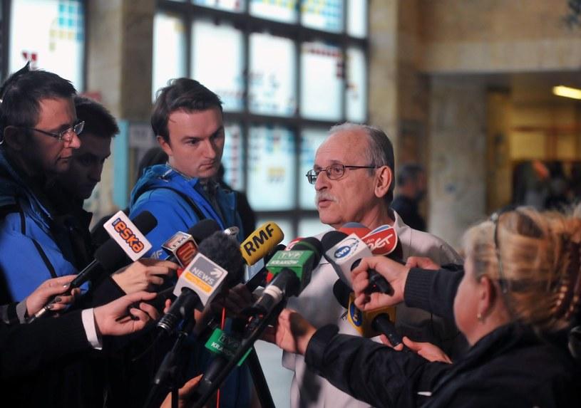 Prof. Janusz Skalski ze szpitala w Prokocimiu /M. Lasyk /Reporter
