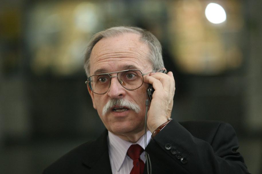 Prof. Janusz Skalski /Jacek Bednarczyk /PAP