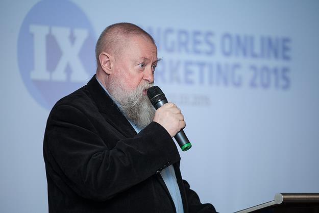 Prof. Jerzy Bralczyk był jednym z głównych gości IX Kongres Online Marketing /