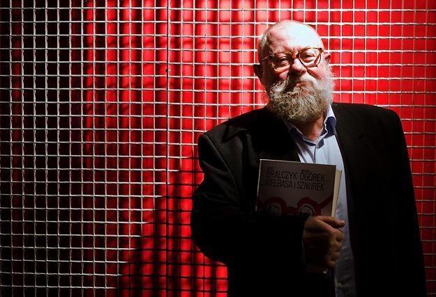 Prof. Jerzy Bralczyk /A. Guz /Reporter