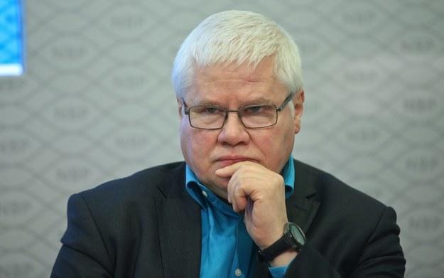 Prof. Jerzy Hausner /Rafał Guz /PAP
