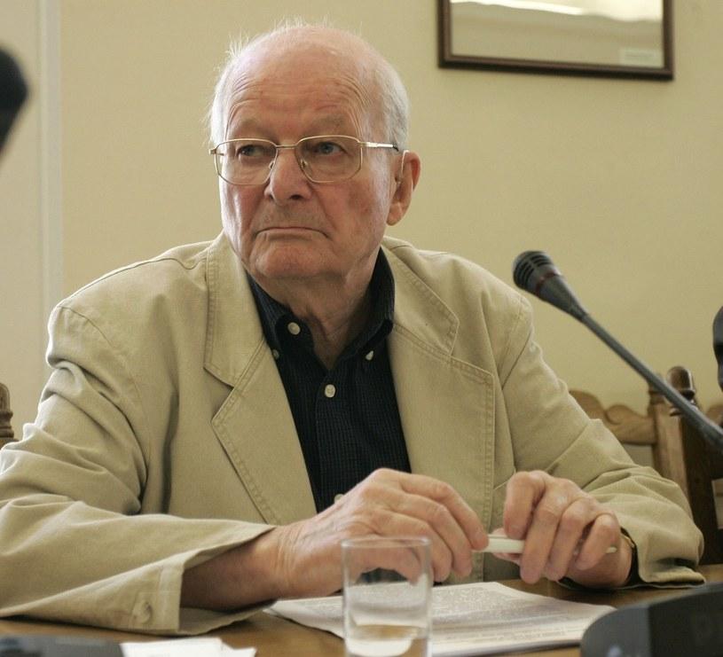 Prof. Jerzy Regulski w 2006 roku /Witold Rozbicki /Reporter