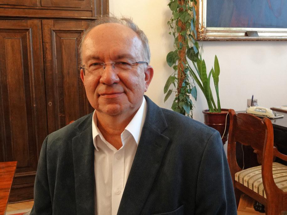 Prof. Jerzy Wordliczek /Grzegorz Jasiński /RMF FM