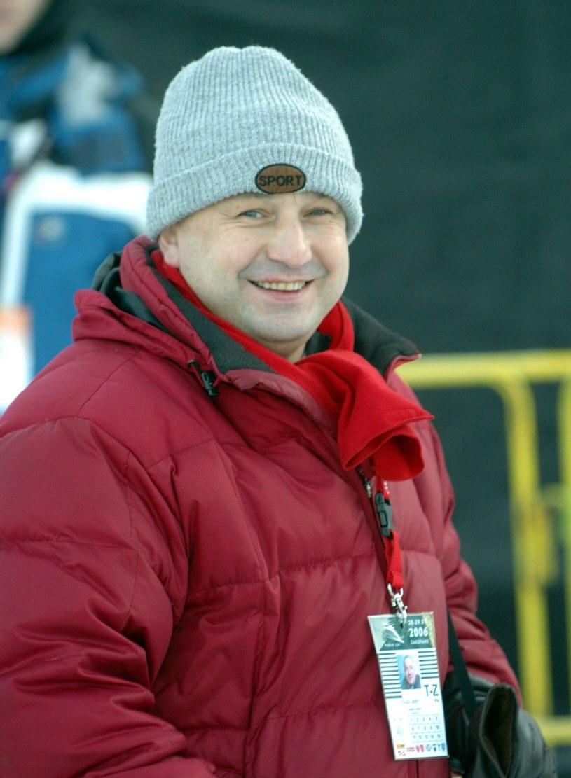Prof. Jerzy Żołądź na zawodach w Zakopanem w 2006 roku /East News