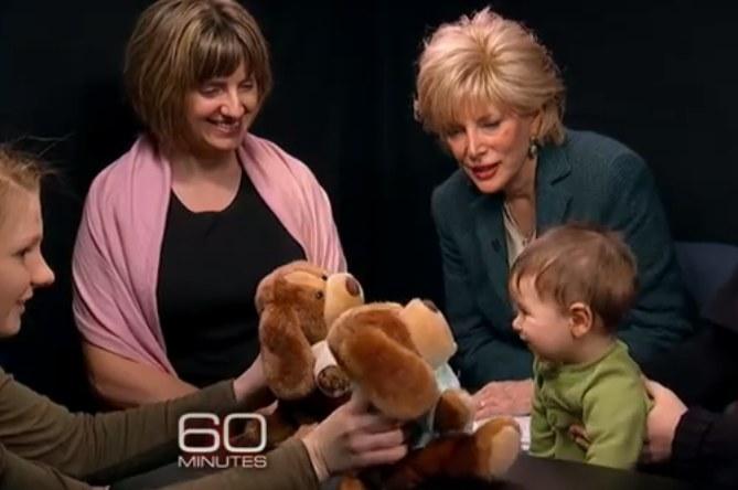 "Prof. Karen Wynn (L) w programie ""60 Minutes"" /YouTube"