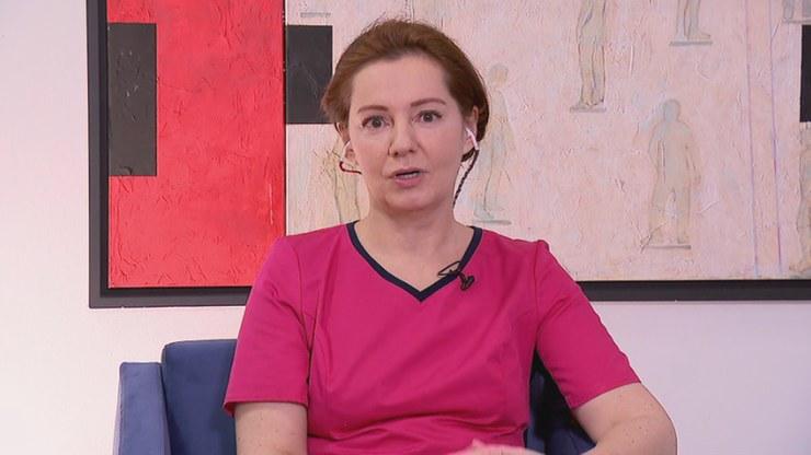 Prof. Katarzyna Życińska w Polsat News /Polsat News