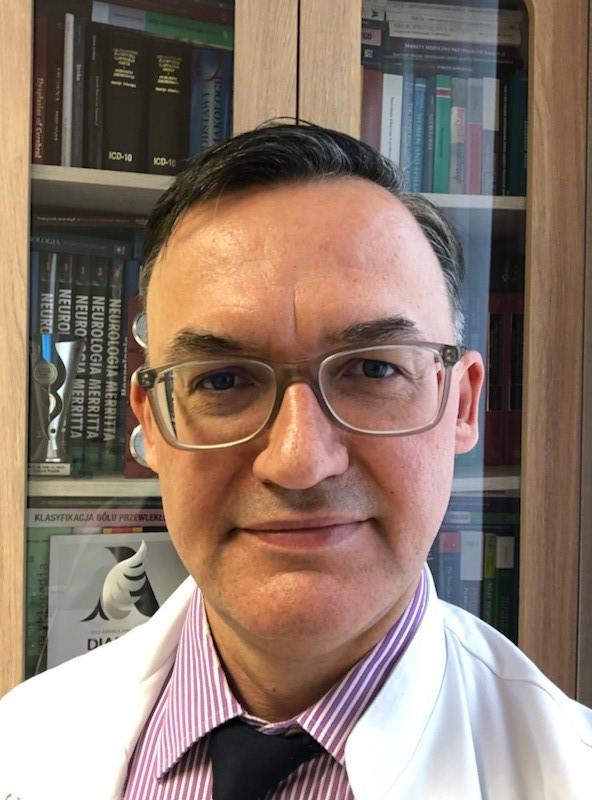 prof. Konrad Rejdak, szef Kliniki Neurologii Szpitala Klinicznego nr 4 w Lublinie /RMF FM