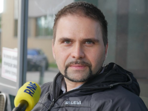 Prof. Krzysztof Pyrć - MCB UJ /Grzegorz Jasiński /RMF FM