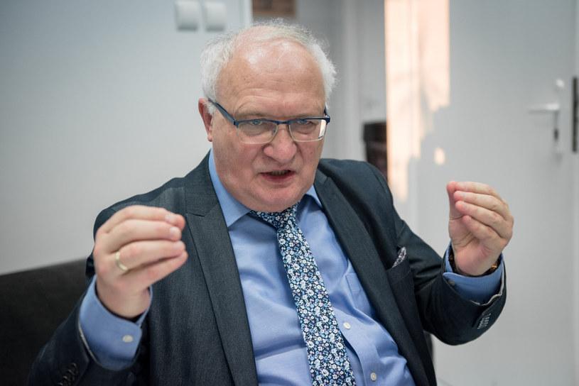 Prof. Krzysztof Simon /Marek Kowalczyk /Reporter