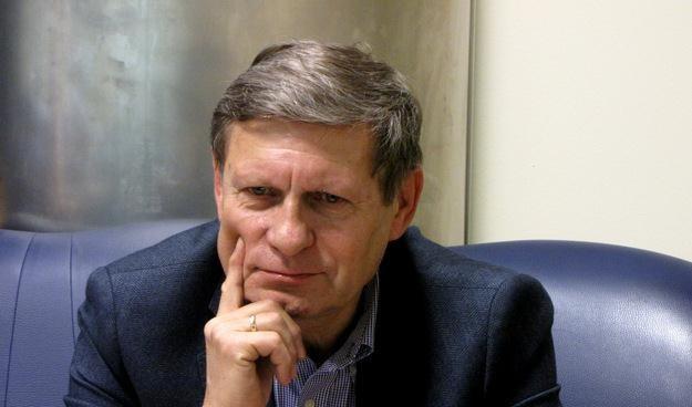 Prof. Leszek Balcerowicz, ekonomista, przewodniczący Rady FOR, fot. Olga Wasilewska /RMF