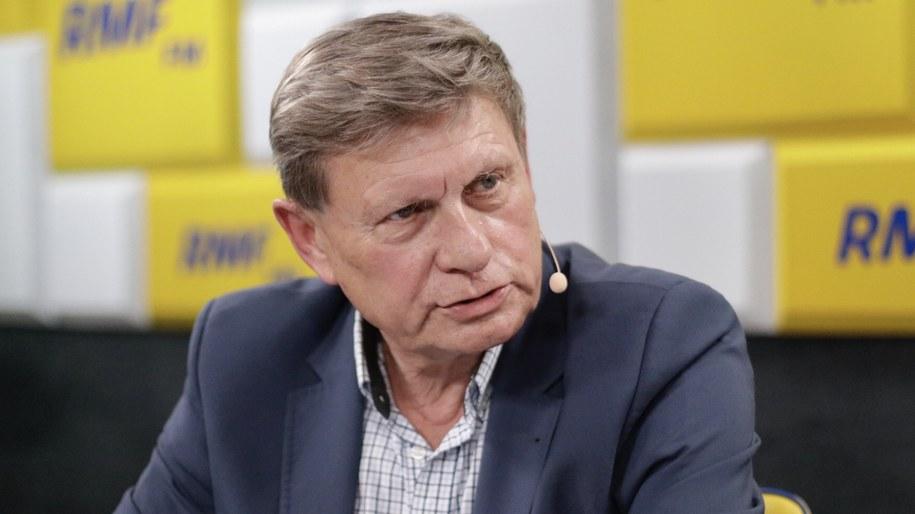 Prof. Leszek Balcerowicz /Michał Dukaczewski /RMF FM