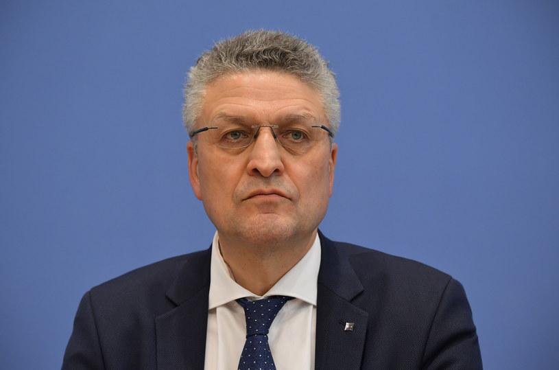 Prof. Lothar Wieler, szef RKI /AFP