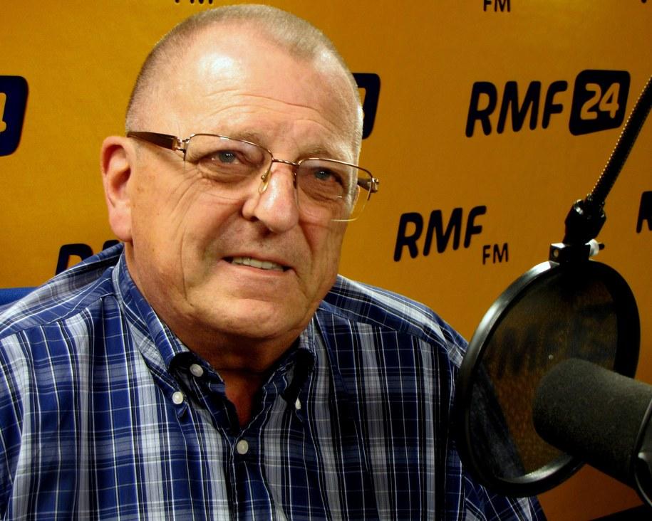 Prof. Łukasz Turski /Kamil Młodawski, RMF FM /RMF FM