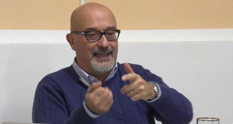 Prof. Marco Cimmino mieszka w jednym z najbardziej dotkniętych epidemią włoskich miast - Bergamo /Youtube