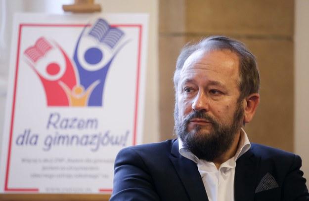 Prof. Marek Konopczyński /Paweł Supernak /PAP