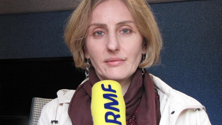 Prof. Maria Miączyńska. /Daniel Pączkowski /RMF FM