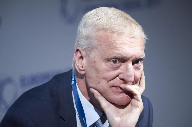 Prof. Michał Kleiber /Wojciech Stróżyk /Reporter