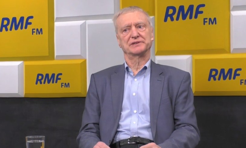Prof. Michał Kleiber /RMF