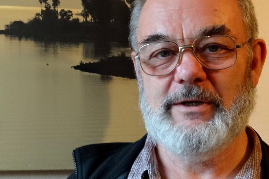 Prof. Michał Ostrowski /Grzegorz Jasiński /RMF FM