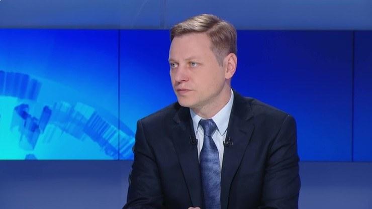 """Prof. Norbert Maliszewski był gościem programu """"Graffiti"""" w Polsat News /Polsat News"""