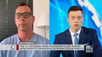 Prof. Parczewski o podzieleniu zaszczepionych i niezaszczepionych: Społeczeństwo tego nie zaakceptuje