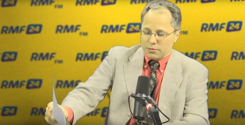 Prof. Paweł Artymowicz w studiu RMF FM /RMF