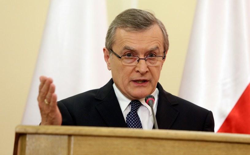 Prof. Piotr Gliński /Mariusz Grzelak /Reporter /Reporter
