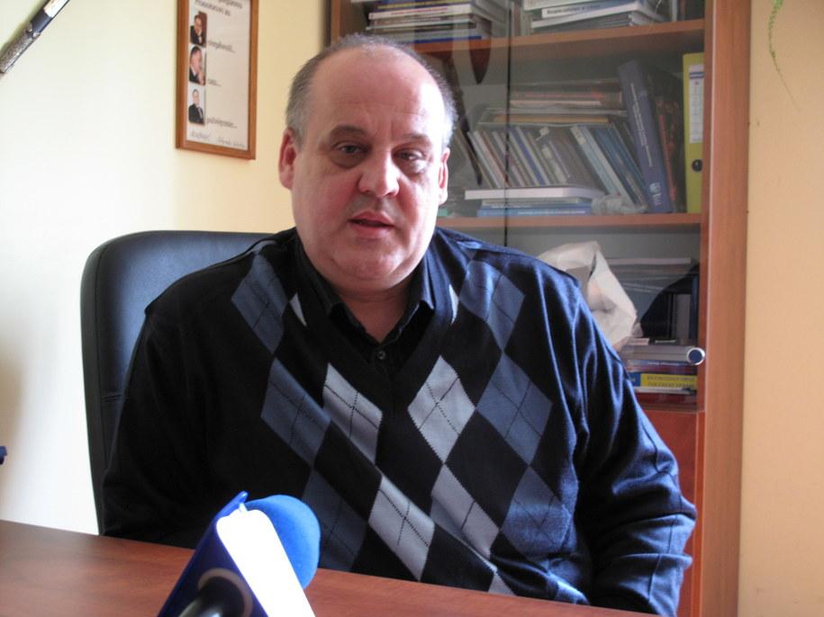 Prof. Piotr Mickiewicz  /Maciej Stopczyk /RMF FM