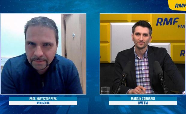 Prof. Pyrć o otwarciu galerii handlowych: Zrobienie tego w bezmyślny sposób będzie miało negatywne skutki