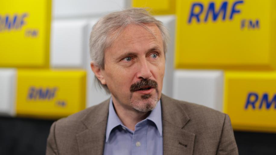Prof. Rafał Chwedoruk /Karolina Bereza /RMF FM