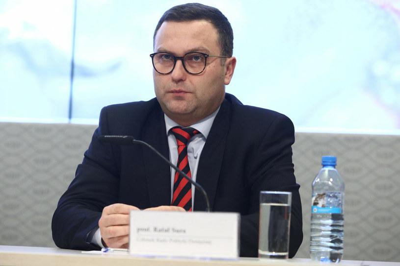 prof. Rałał Sura, członek Rady Polityki Pieniężnej /Tomasz Jastrzębowski /Reporter