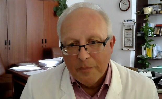 Prof. Robert Flisiak gościem Porannej rozmowy w RMF FM