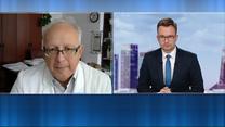 Prof. Robert Flisiak: Sytuacja jest naprawdę zła. W niektórych regionach może zabraknąć łóżek