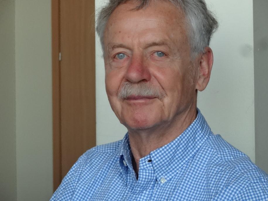 Prof. Rudolf Jaenisch /Grzegorz Jasiński (RMF FM) /materiały prasowe