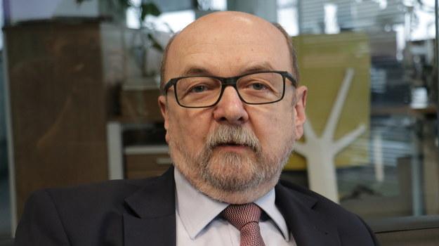 Prof. Ryszard Legutko chce, by z UJ zniknął dział ds. równego traktowania /Kuba Rutka /RMF FM