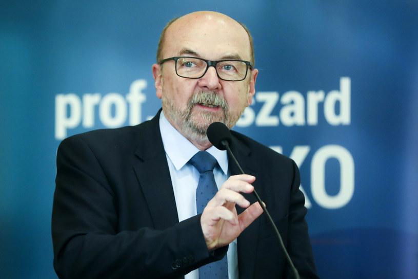 Prof. Ryszard Legutko /Beata Zawrzel /Reporter