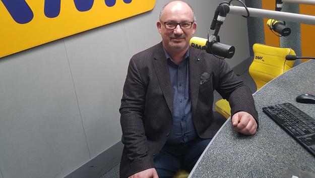 Prof. Sebastian Giebel /Ewa Kwaśny /RMF FM
