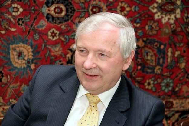 Prof. Stanisław Gomułka /Reporter