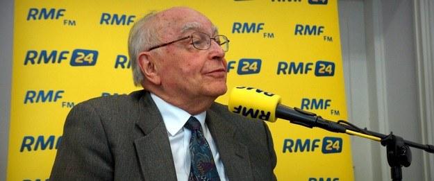 Prof. Stanisław Grygiel /Michał Dukaczewski /RMF FM