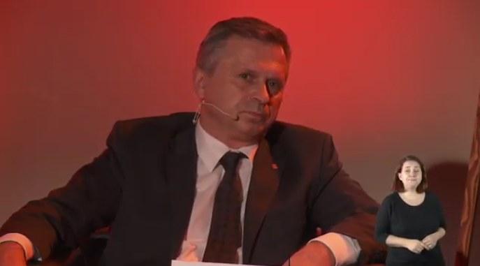 Prof. Stanisław Mazur, rektor Uniwersytetu Ekonomicznego /