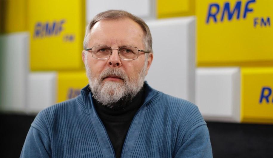 Prof. Szymon Malinowski. Fizyk atmosfery z Uniwersytetu Warszawskiego /Karolina Bereza /RMF FM