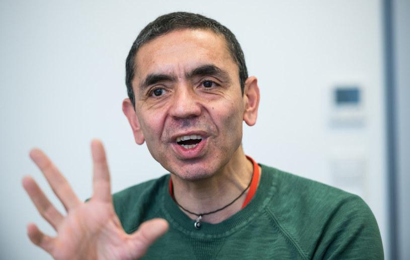Prof. Ugur Sahin, dyrektor generalny firmy BioNTech /Andreas Arnold/AFP /East News