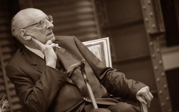 Prof. Władysław Bartoszewski (1922-2015) /Jacek Turczyk /PAP