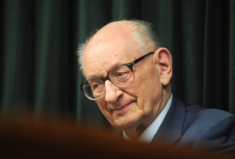 Prof. Władysław Bartoszewski /Lech Gawuc /Reporter