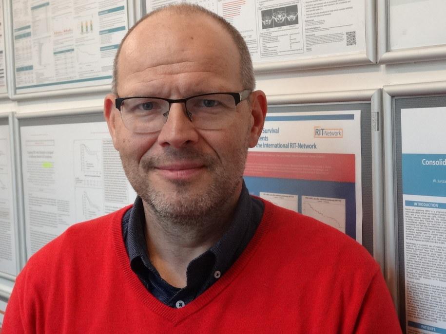 Prof. Wojciech Jurczak /Grzegorz Jasiński (RMF FM) /RMF FM